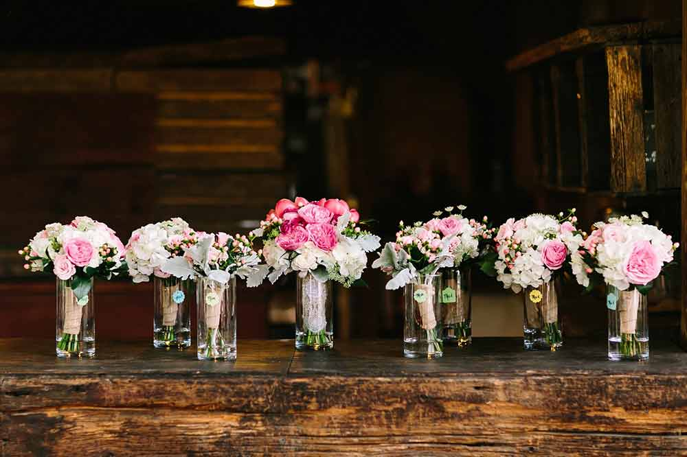 Flower Vases - Photo by B. Hull Photography